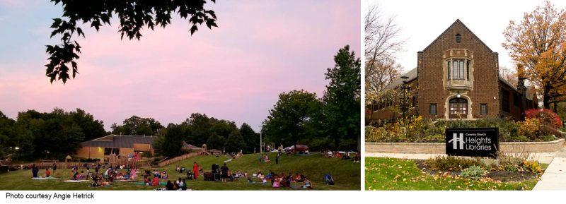 Peace Park at Sunset